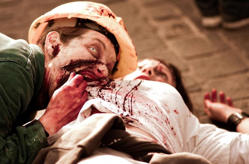 zombie con hambre