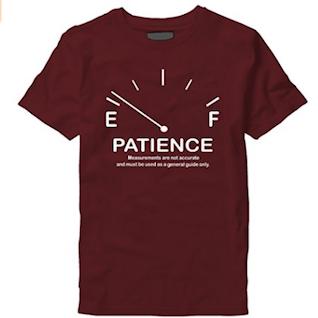 camiseta paciencia